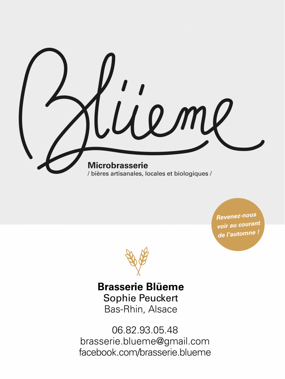 Brasserie Blüeme Alteckendorf Coming Soon mobile